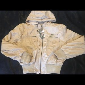 George Palomares Hooded Jacket New Small